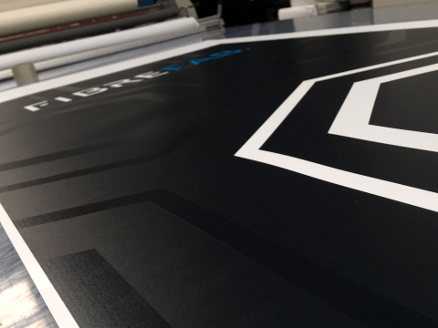 Banner in production
